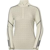 HELLY HANSEN W LIFA MERINO GRAPHIC 1/2 OFF WHITE 20