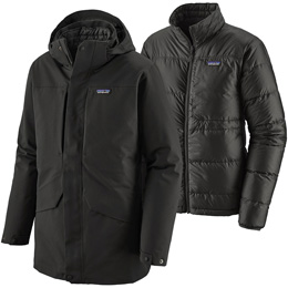 PATAGONIA M'S TRES 3IN1 PARKA BLACK 20