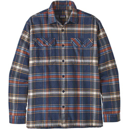 PATAGONIA M'S L/S FJORD FLANNEL SHIRT DEFENDER: NEO NAVY 20