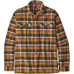 PATAGONIA M'S L/S FJORD FLANNEL SHIRT OBSERVER: WREN GOLD 20