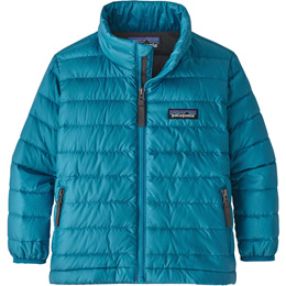 PATAGONIA BABY DOWN SWEATER BALKAN BLUE W/FORGE GREY 20