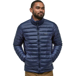 Textile - accessoires PATAGONIA PATAGONIA M'S DOWN SWEATER CLASSIC NAVY W/CLASSIC NAVY 20 - Ekosport