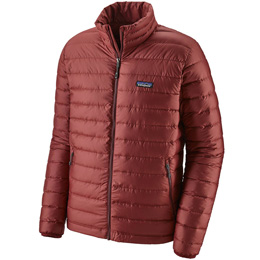 Technologie PATAGONIA PATAGONIA M'S DOWN SWEATER OXIDE RED 20 - Ekosport