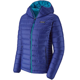 Collection PATAGONIA PATAGONIA W'S DOWN SWEATER HOODY COBALT BLUE 20 - Ekosport