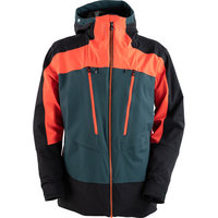 DEGRÉ 7 LAGARDE SKI JACKET 3D STRETCH 20K PRIMALOFT DARK GREEN 20