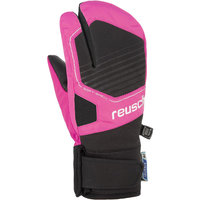 BU TEXTILE REUSCH REUSCH TORBY R-TEX XT JUNIOR LOBSTER BLACK/KNOCKOUT PINK 20 - Ekosport