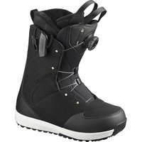 SALOMON IVY BOA SJ BLACK/BLACK/PALE LIME 20