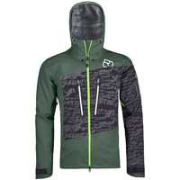 Technologie ORTOVOX ORTOVOX 3L GUARDIAN SHELL JACKET M GREEN FOREST 20 - Ekosport