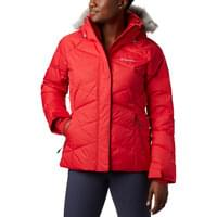 COLUMBIA LAY D DOWN II JKT W RED LILY 20