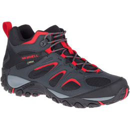 MERRELL YOKOTA 2 SPORT MID GTX BLACK/HIGH RISK 19