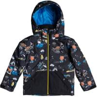 QUIKSILVER LITTLE MISSION KIDS JK BLACK SNOW PARTY 20