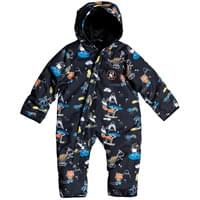 QUIKSILVER BABY SUIT BLACK SNOW PARTY 20