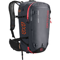 ORTOVOX ASCENT 38 S AVABAG KIT BLACK ANTHRACITE 20