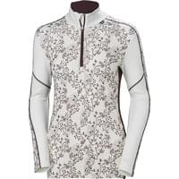 HELLY HANSEN HH LIFA MERINO GRAPHIC 1/2 Z W ROSE/BERRY 19