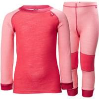 HELLY HANSEN HH LIFA MERINO SET KIDS STRAWBERRY PINK 19