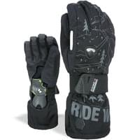 LEVEL GLOVE FLY BLACK GREY 20