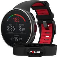 POLAR VANTAGE V TI BLACK/RED HR 20