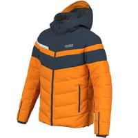 COLMAR FREESKI DOWN SKI JKT ORANGE/BLUE BLK/WHITE 20