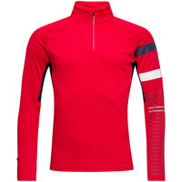 ROSSIGNOL POURSUITE 1/2 ZIP SPORTS RED 20 - 301