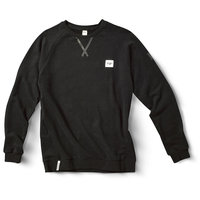 FW SOURCE CREW NECK LSW SLATE BLACK 20