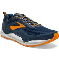 BROOKS CASCADIA 14 POSEIDON/ORANGE/GREY 20