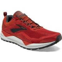 BROOKS CASCADIA 14 RED/EBONY/GREY 20