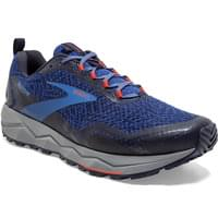 BROOKS DIVIDE BLUE/NAVY/CHERRY TOMATO 20