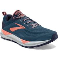 BROOKS CASCADIA 14 W DESERT FLOWER/NAVY/GREY 20