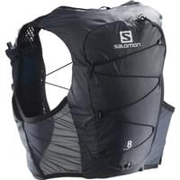 SALOMON ACTIVE SKIN 8 SET EBONY/BLACK 21