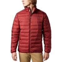 COLUMBIA LAKE 22 DOWN JKT RED JASPER 19
