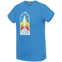 Technologie PICTURE PICTURE OREGON TEE PICTURE BLUE 21 - Ekosport
