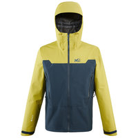 MILLET KAMET LIGHT GTX JKT ORION BLUE/WILD LIME 21