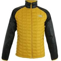 THE NORTH FACE THERMOBALL SPORT JKT GLDN SPICE/TNF BLK 20
