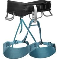 BLACK DIAMOND MOMENTUM HARNESS W AQUA VERDE 20
