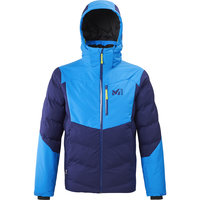 Vêtement hiver MILLET MILLET ROBSON PEAK JKT BLUE DEPTHS/ELECTRIC BLUE 20 - Ekosport