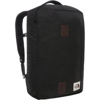 THE NORTH FACE TRAVEL DUFFEL PACK TNF BLACK HEATHER 20 - KS7