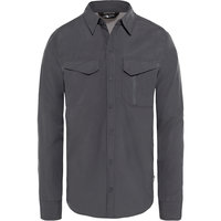 THE NORTH FACE M L/S SEQUOIA ST ASPHALT GREY/MID GREY 19