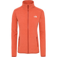 THE NORTH FACE W 100 GLACIER FULL Z JUICY RED STRIPE 19