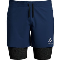 ODLO 2-IN-1 SHORTS MILLENNIUM PRO ESTATE BLUE/BLK 20