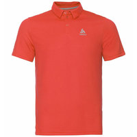 ODLO POLO SHIRT S/S F-DRY MANDARIN RED 20