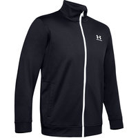 UNDER ARMOUR SPORTSTYLE TRICOT JKT BLACK / ONYX WHITE 20
