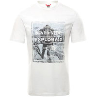 THE NORTH FACE M S/S GRAPHIC TEE TNF WHITE/TNF WHITE 20