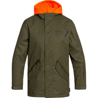 DC SHOES UNION JKT YOUTH OLIVE NIGHT 20