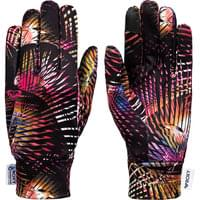 ROXY HYDROSMART LINER GLOVES TRUE BLACK NIGHT PALM 20