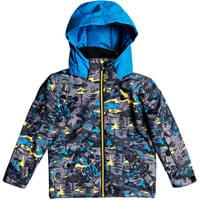 QUIKSILVER LITTLE MISSION KIDS JK SULPHUR POP YETI FOREST 20