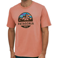 PATAGONIA M'S FITZ ROY SCOPE ORGANIC T-SHIRT MELLOW MELON 20