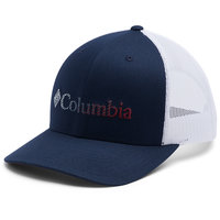 COLUMBIA MESH SNAP BACK HAT COLLEGIATE NAVY WHITE 20