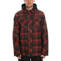 686 MNS WOODLAND INSULATED JACKET RUSTY RED PLAID 20