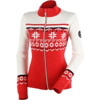 DUVILLARD SALEINA CARD FULL ZIP PULLOVER RED 20