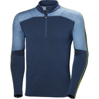 HELLY HANSEN HH LIFA MERINO MAX 1/2 ZIP NORTH SEA BLUE 20